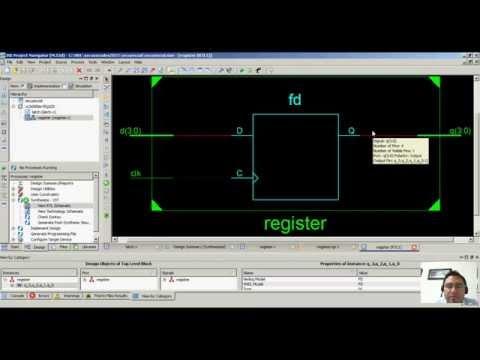 FPGAs & Verilog 2015 - Flip-Flop y Registros Digitales con Verilog - Hackeando Tec