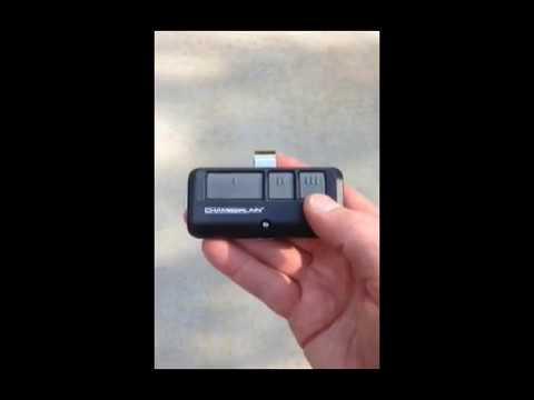 Garage Door Remote Control Not Working Youtube