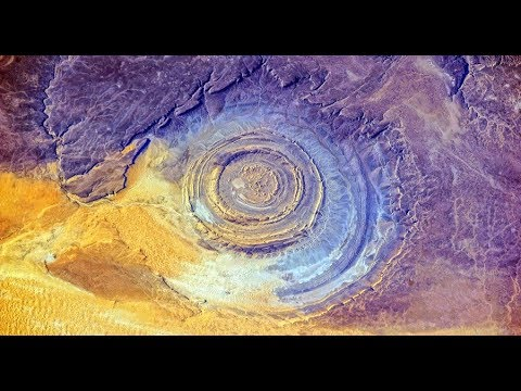 Mysterious Richat Structure Mauritania