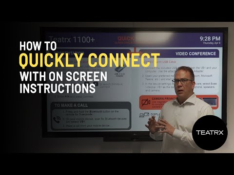 How To Quickly Connect With On-Screen Instructions