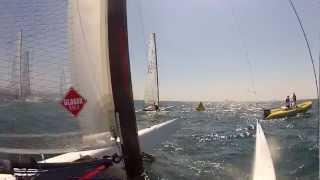 A Class Catamaran Racing