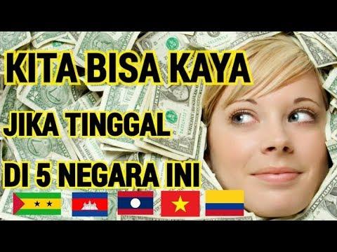 5 NEGARA DENGAN MATA UANG YANG JAUH LEBIH RENDAH DIBANDING RUPIAH INDONESIA
