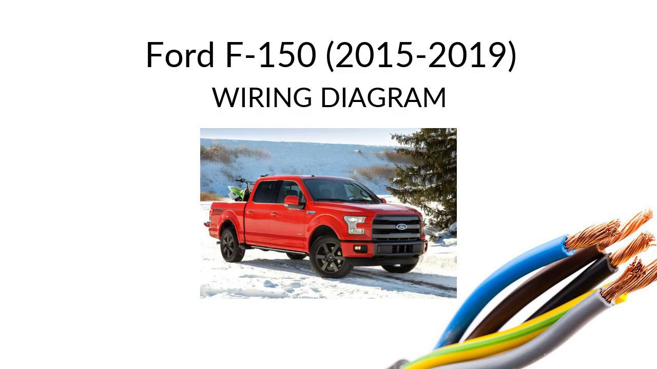 ford f-150 2015-2019 wiring diagram - youtube  youtube