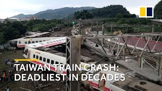 Taiwan train crash 2018: the deadliest accident in decades