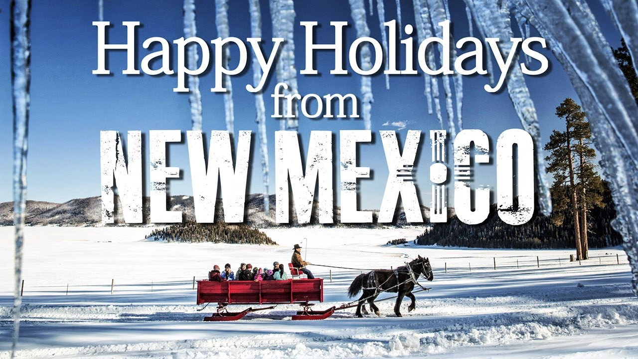 New Mexico Holiday Greeting Youtube