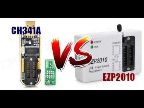 Adu Hebat Eeprom Programmer CH341A VS EZP2010