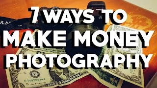 In this video, you will learn seven ways to make money from photography. whether are looking turn your passion into a full-time business or just earn ...