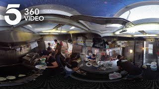 Watch Tacos Being Made in a Food Truck in 360