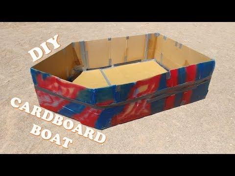 DIY Cardboard Boat!