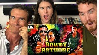 ROWDY RATHORE | Akshay Kumar | Trailer REACTION!!