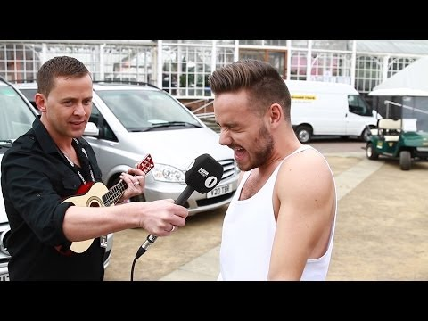 Big Weekend Backstage Karaoke! (Radio 1's Big Weekend 2014)