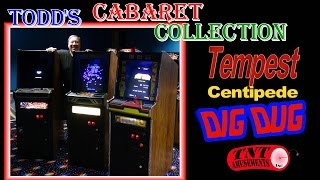 #1173 Atari TEMPEST - CENTIPEDE - DIG DUG Cabaret Arcade Video Games - TNT Amusements