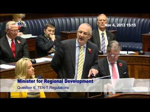 Question Time: Regional Development Monday 4 November 2013