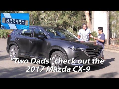 "2017 Mazda CX-9 SUV 7-seat (""Two Dads"" Review) | BRRRRM Australia"