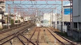 【先行公開】東京都交通局6500形甲種輸送 出庫の様子(徳庵)