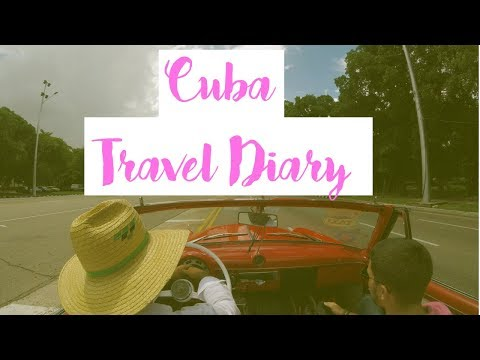Cuba Travel Diary ♡ a one minute journey