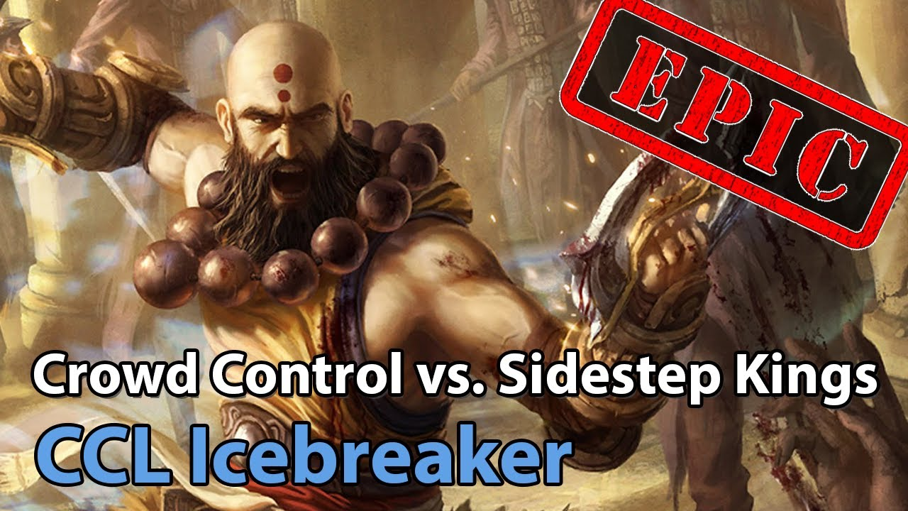 ► EPIC: Sidestep Kings vs. Crowd Control - Icebreaker Cup - Heroes of the Storm Esports