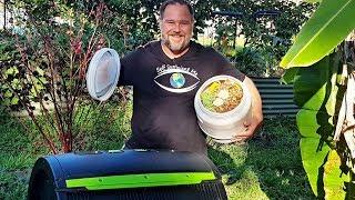 Best Kitchen Compost Bin Caddy Container Bucket for Home Waste/Scraps