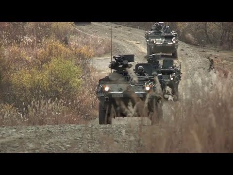Stryker Armored Combat Vehicle Demonstration (HD)