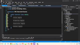 Create a Visual C# RPG Windows Form Project: OOP Part 1