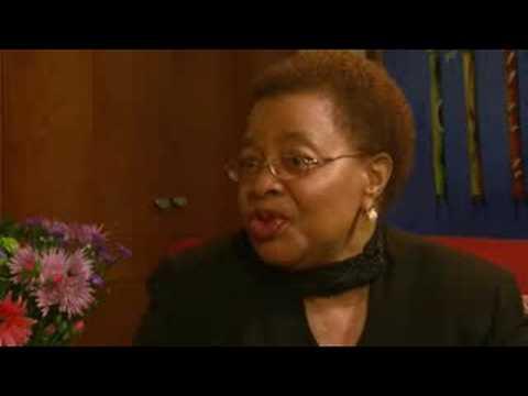 Graca Machel talks to Al Jazeera - 17 July 08 - Part 1
