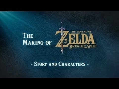 the making of the legend of zelda breath of the wild story and characters youtube. Black Bedroom Furniture Sets. Home Design Ideas