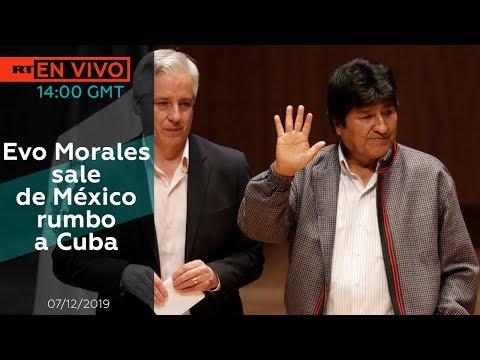 Evo Morales sale