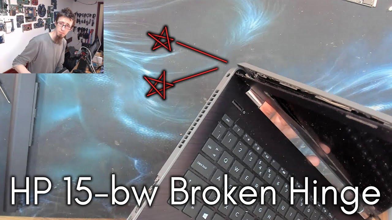 HP 15-bw Hinge Rebuild - LFC#224