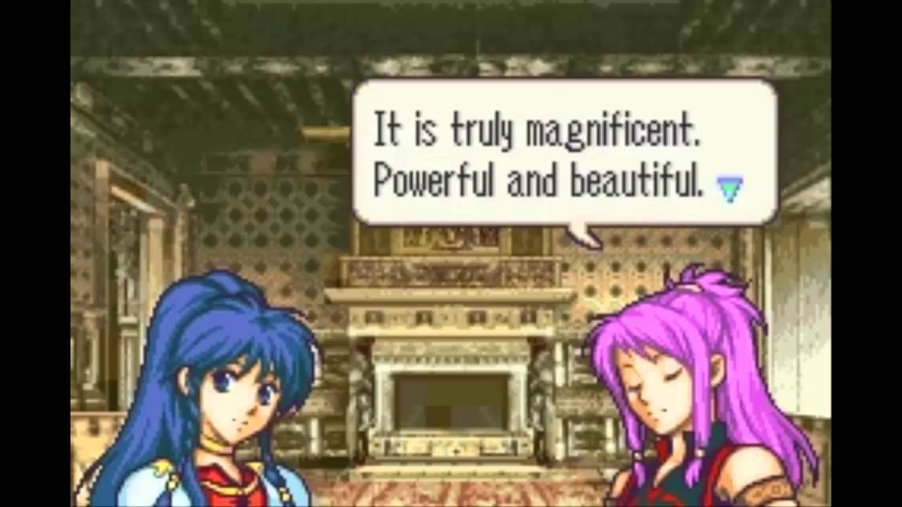 Fire Emblem The Sacred Stones Marisa Tana Support Youtube