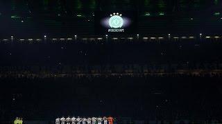 Juventus Stadium pays its respects to Chapecoense