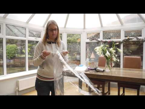 the latest 8c40d b9425 Fit Stormguard Secondary Glazing Film Draught Excluder - YouTube