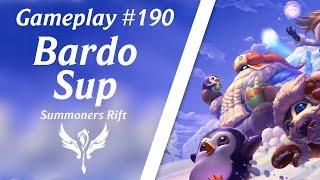 LOL Gameplay - Bardo Suporte #35 | 4K 60fps