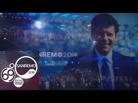 Sanremo 2019 - Claudio Baglioni omaggia Fabrizio Frizzi