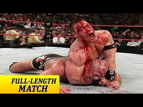 Bloody Match between John Cena Vs Kurt Angle Jan 2006