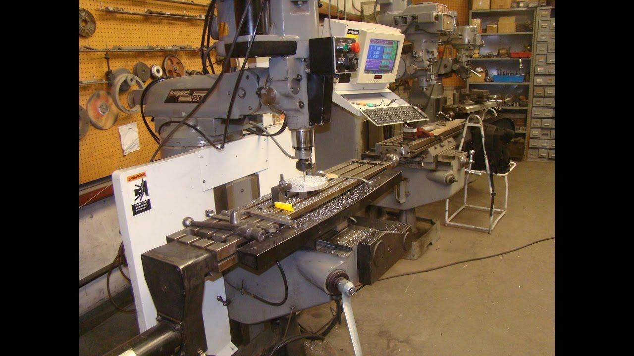 Bridgeport V2xt Cnc Milling Machine