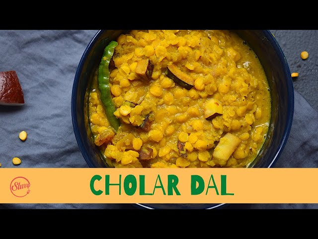 Niramish Cholar Dal Recipe | Vegetarian Bengali Chana Dal Recipe