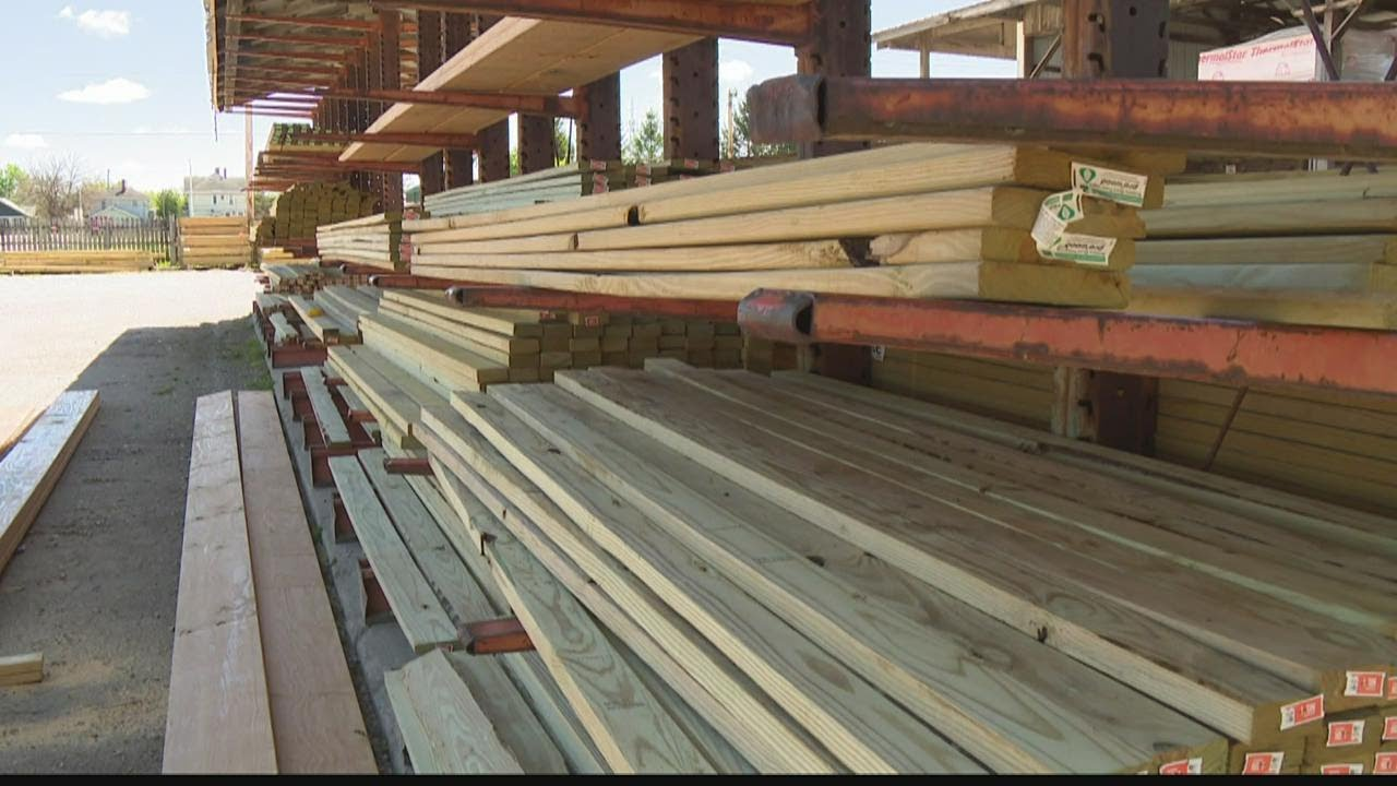 Don't expect those record high lumber prices to drop anytime soon