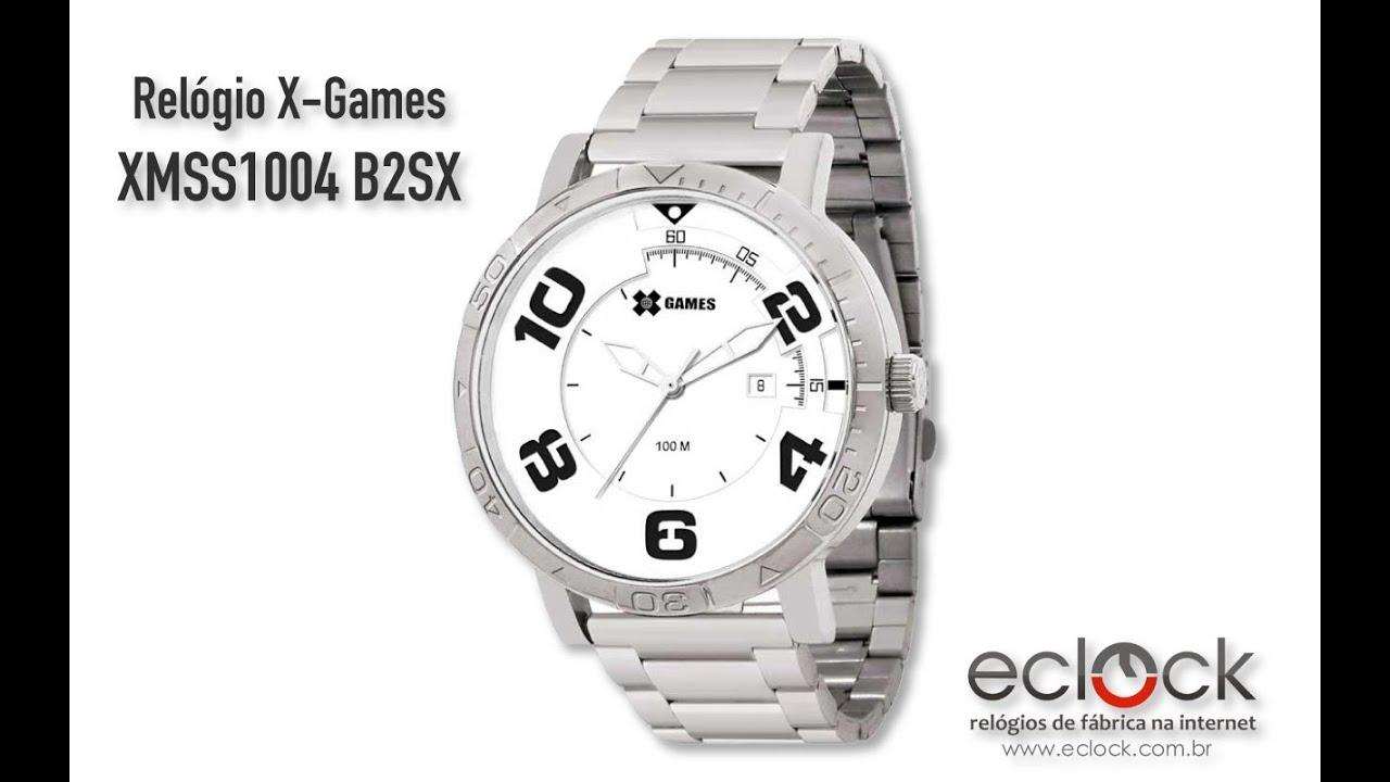 c09dc62771b Relógio X-Games Masculino XMSS1004 B2SX - Eclock - YouTube