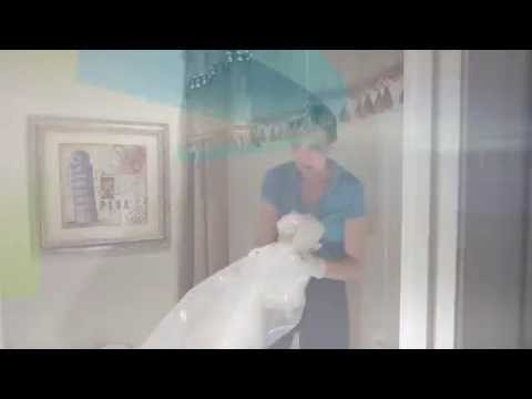 How to Clean a Plastic Shower Curtain @SavvyCleaner