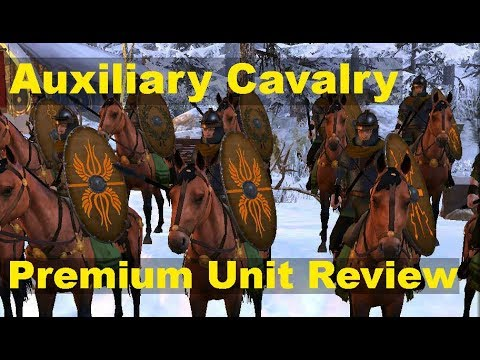 Total War: Arena - Auxiliary Cavalry tier IV Premium Roman Cavalry Review + Gameplay