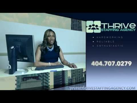 Thrive Staffing Commercial