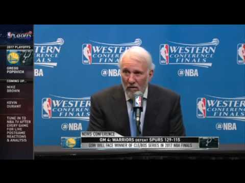 Gregg Popovich says the Warriors are 'way, way more than their talent'