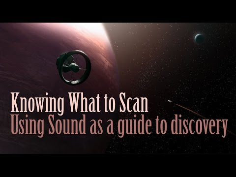 Elite Dangerous - Knowing what planets to scan using sound