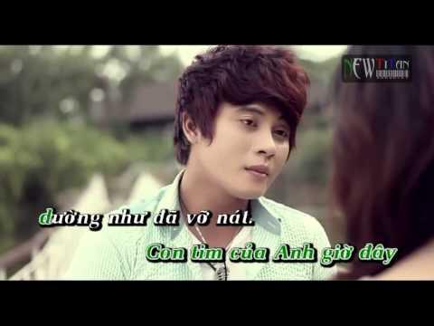 Karaoke) Nhìn em lần cuối Yuki Huy Nam(Full beat)   YouTube