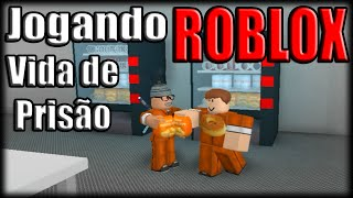 Playing Roblox-Madness in prison! -Ft. Godenot!