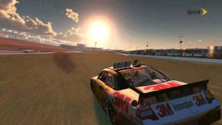 NASCAR 2011 the game Blowover huge crash