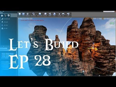 Let's Build #28 - Low Poly Cliff Asset