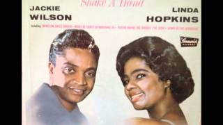 JACKIE WILSON & LINDA HOPKINS...JOSHUA FIT THE BATTLE OF JERICHO...BRUNSWICK