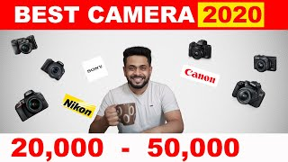 ... talks about canon, sony and nikon cameras that are best options as dslr or mirrorless under 50,...