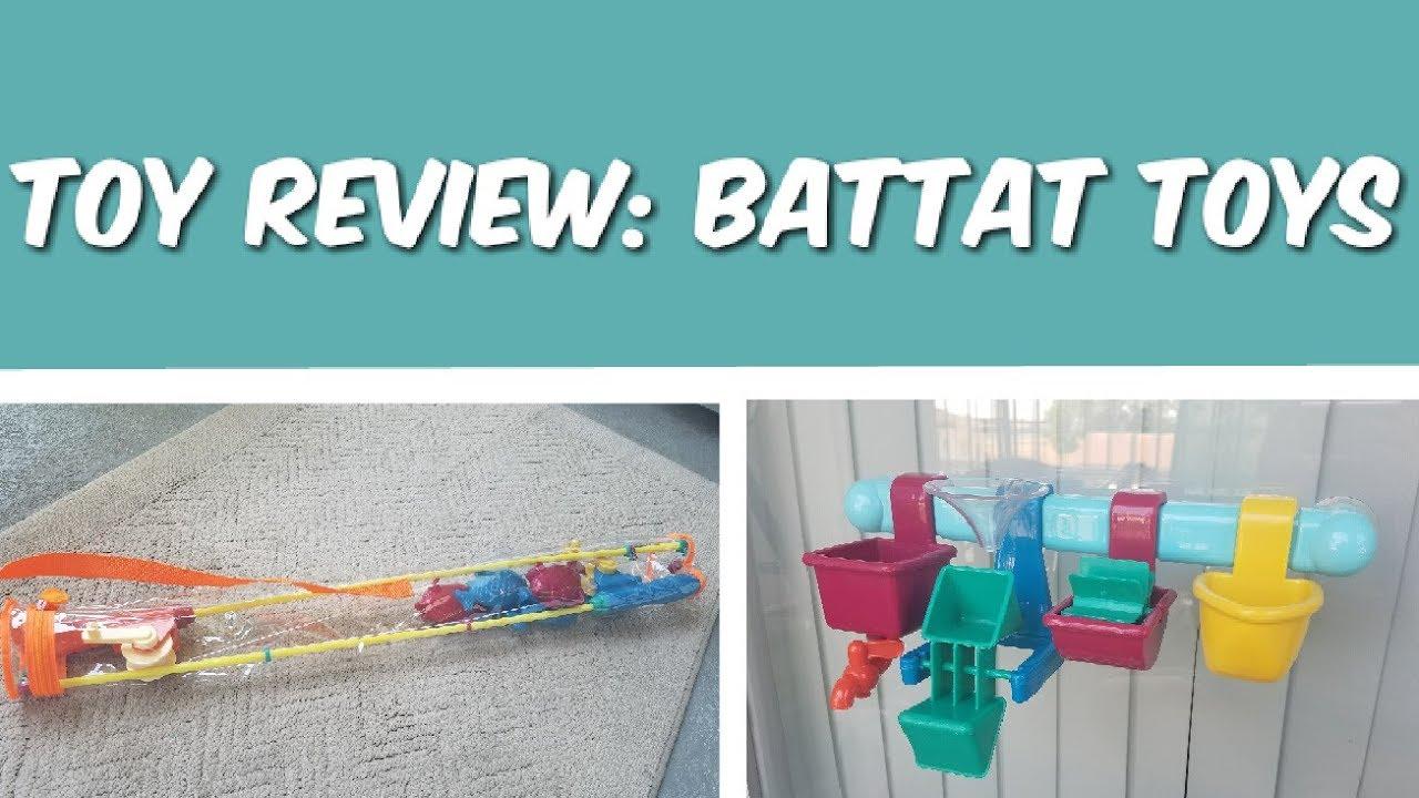 Toy Review // Battat Toys: Fishing Poles & Bath Bar - YouTube